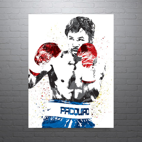 Manny Pacquiao Boxing Poster - PixArtsy