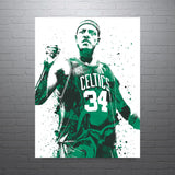 Paul Pierce Boston Celtics Poster - PixArtsy