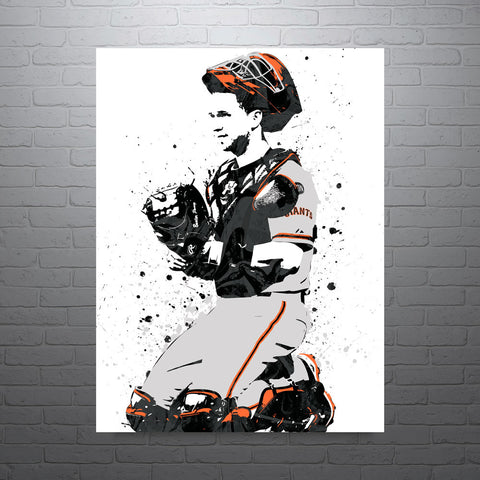 Buster Posey San Francisco Giants Poster - PixArtsy