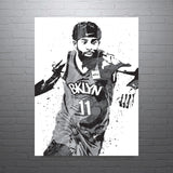 Kyrie Irving Brooklyn Nets Poster - PixArtsy