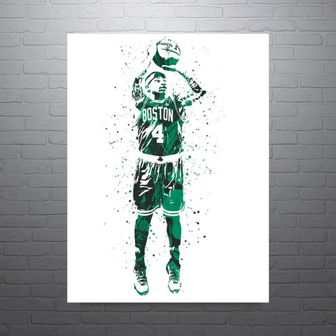 Isaiah Thomas Boston Celtics Poster - PixArtsy
