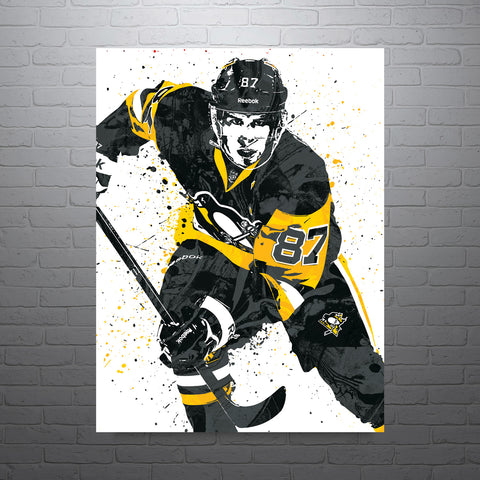 Sidney Crosby Pittsburgh Penguins Poster - PixArtsy