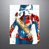 Captain Marvel The Avengers Poster - PixArtsy