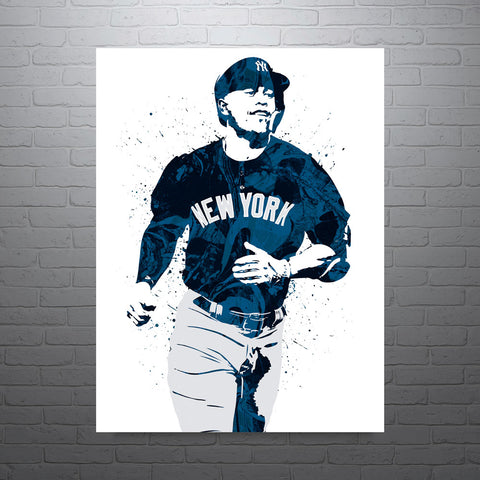 Giancario Stanton New York Yankees Poster - PixArtsy