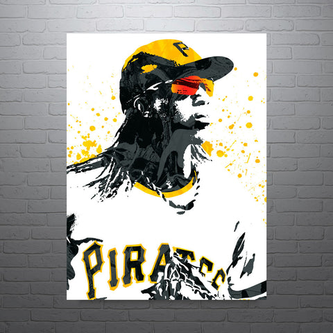 Andrew McCutchen Pittsburgh Pirates Poster - PixArtsy