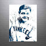 Babe Ruth New York Yankees Poster - PixArtsy