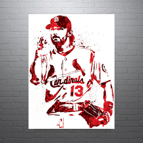 Matt Carpenter St Louis Cardinals Poster - PixArtsy