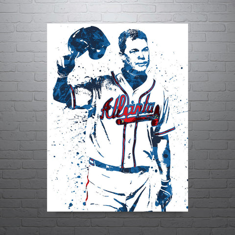 Chipper Jones Atlanta Braves Poster - PixArtsy - 1