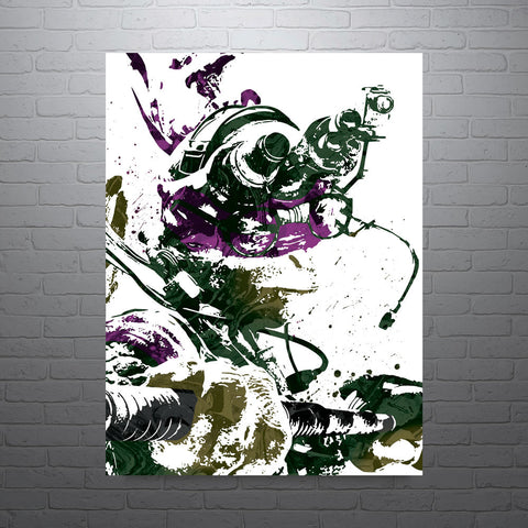 Teenage Mutant Ninja Turtle Donatello Poster - PixArtsy