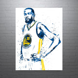 Kevin Durant Golden State Warriors Home Poster - PixArtsy