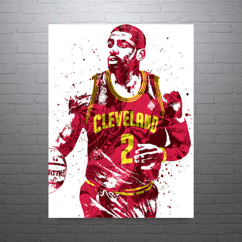 Kyrie Irving Cleveland Cavaliers Poster - PixArtsy - 1