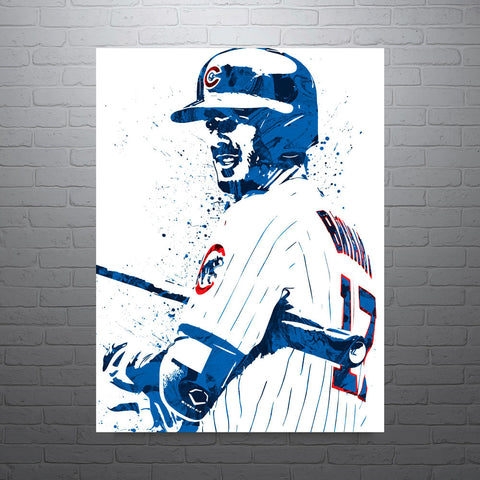 Kris Bryant Chicago Cubs Poster - PixArtsy