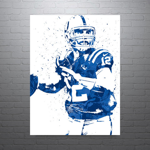 Andrew Luck Indianapolis Colts Poster - PixArtsy - 1