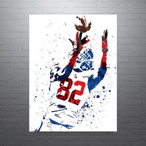 Mario Manningham New York Giants Poster - PixArtsy - 1