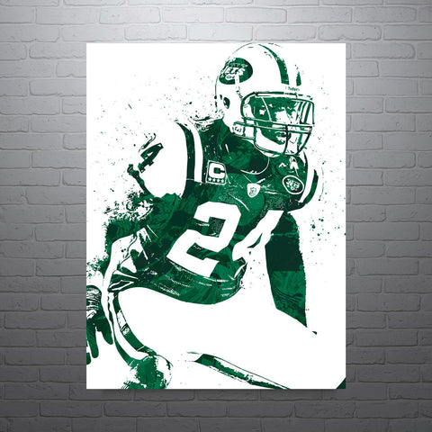 Darrelle Revis New York Jets Poster - PixArtsy - 1