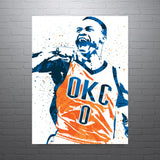 Russell Westbrook Oklahoma City Thunder Poster - PixArtsy - 1