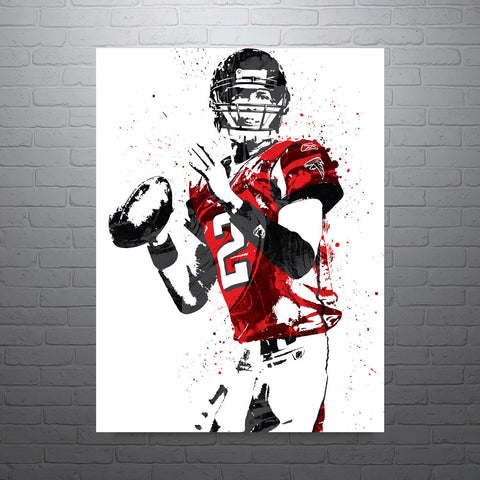 Matt Ryan Atlanta Falcons Football Poster - PixArtsy - 1