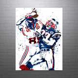 David Tyree New York Giants Poster - PixArtsy