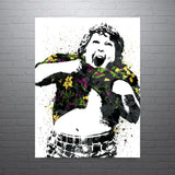 The Goonies Truffle Shuffle Chunk Movie Poster - PixArtsy