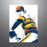 Nolan Ryan Houston Astros Poster - PixArtsy