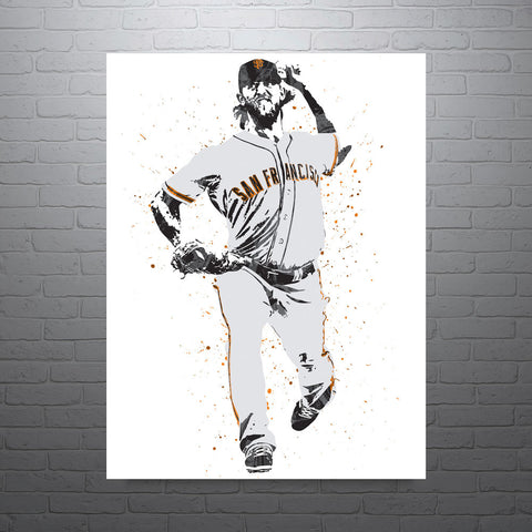 Madison Bumgarner San Francisco Giants Poster - PixArtsy