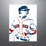 Mookie Betts Boston Red Sox Poster - PixArtsy