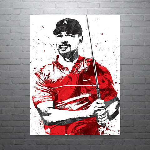 Tiger Woods Golf Poster - PixArtsy