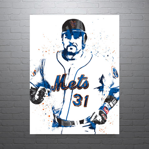 Mike Piazza New York Mets Poster - PixArtsy