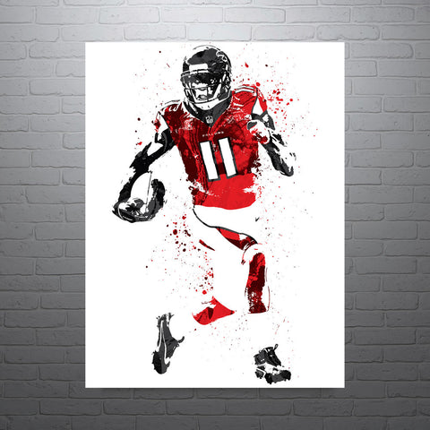 Julio Jones Atlanta Falcons Football Poster - PixArtsy - 1