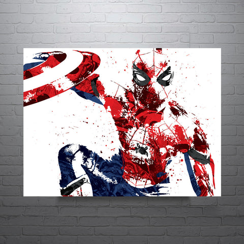 Civil War Spider-Man Poster - PixArtsy - 1