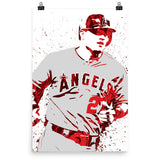 Mike Trout Los Angeles Angels of Anaheim Poster - PixArtsy