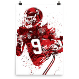 Amari Cooper University of Alabama Crimson Tide Poster - PixArtsy