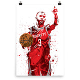 Chris Paul CP3 Houston Rockets Poster - PixArtsy