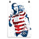 Alex Morgan USA Soccer Poster - PixArtsy