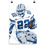Emmitt Smith Dallas Cowboys Poster - PixArtsy