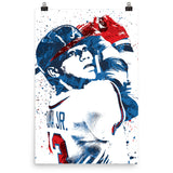 Ronald Acuna Jr Atlanta Braves Poster - PixArtsy