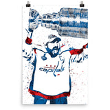 Alexander Ovechkin Washington Capitals Poster - PixArtsy