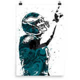 Nick Foles Philadelphia Eagles Poster - PixArtsy
