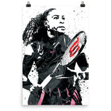 Serena Williams Tennis Poster - PixArtsy