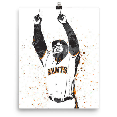 Barry Bonds San Francisco Giants Poster - PixArtsy