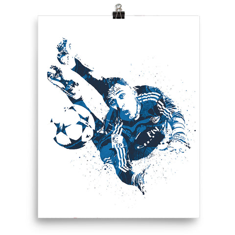 Keylor Navas Save Real Madrid Poster - PixArtsy