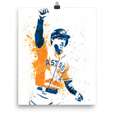 George Springer Houston Astros Poster - PixArtsy
