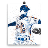 Doc Gooden New York Mets Poster - PixArtsy