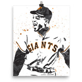 Willie Mays San Francisco Giants Poster - PixArtsy