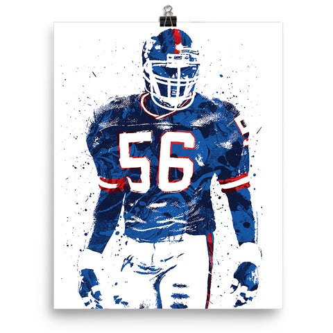 Lawrence Taylor New York Giants Poster - PixArtsy