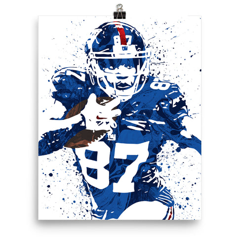 Sterling Shepard New York Giants Poster - PixArtsy