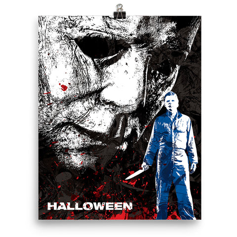 Halloween Mike Myers Movie Poster - PixArtsy