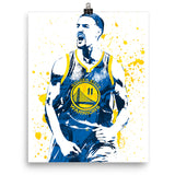 Klay Thompson Golden State Warriors Poster - PixArtsy
