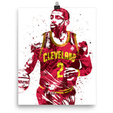 Kyrie Irving Cleveland Cavaliers Poster - PixArtsy