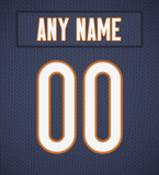 Chicago Bears Jersey Poster - Print Personalized Select ANY Name & ANY Number - PixArtsy - 6